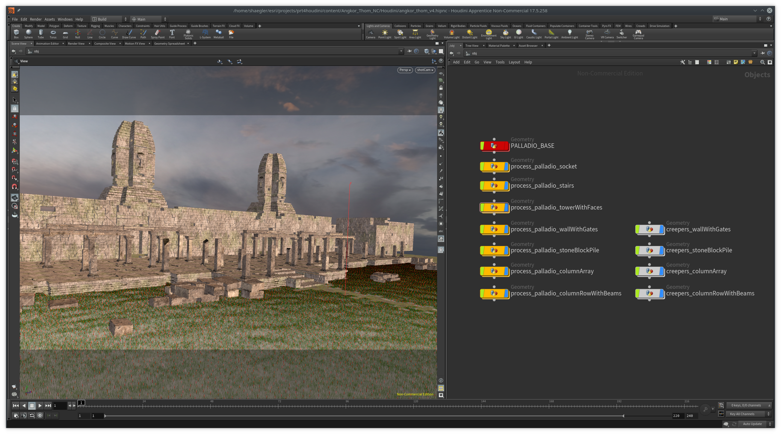 Palladio - CityEngine Plugin for Houdini | Palladio enables the