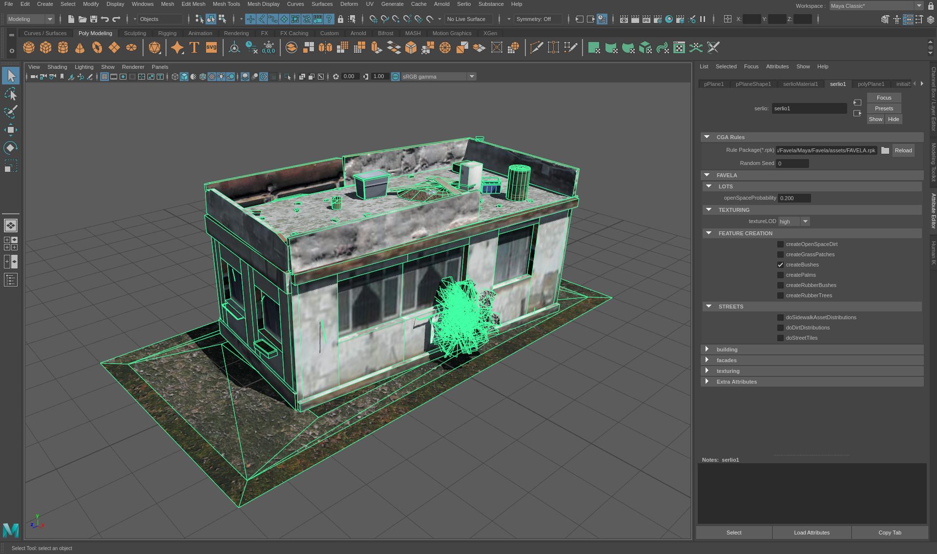 Serlio - CityEngine Plugin for Autodesk Maya | Serlio